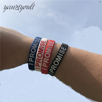 High Quality James Silicone Bracelet I PROMISE More Than An Athlete Basketball Player Kids Siliocne Wristband Women Men image