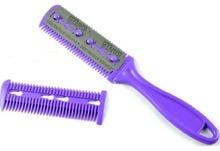 24 piece/lot Wholesale Super quality hair razor comb for hair dressing Salon/Families