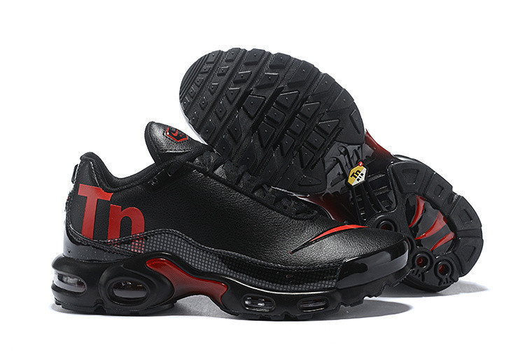 finest selection 41d14 3336b Original NIKE Air Max Plus Tn Leather Outside Men Sport Running Shoes Male  Outdoor Anti-Slip Sole Cushioning Sneakers Eur 40-46