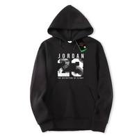 2018 New Hip Hop Man Print Jordan 23 Pullover Brand Man Swag Hoodies And Sweatshirts Streetwear