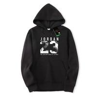 2018 New Hip Hop Man Print Jordan 23 Pullover Brand Man Swag Hoodies And Sweatshirts Streetwear