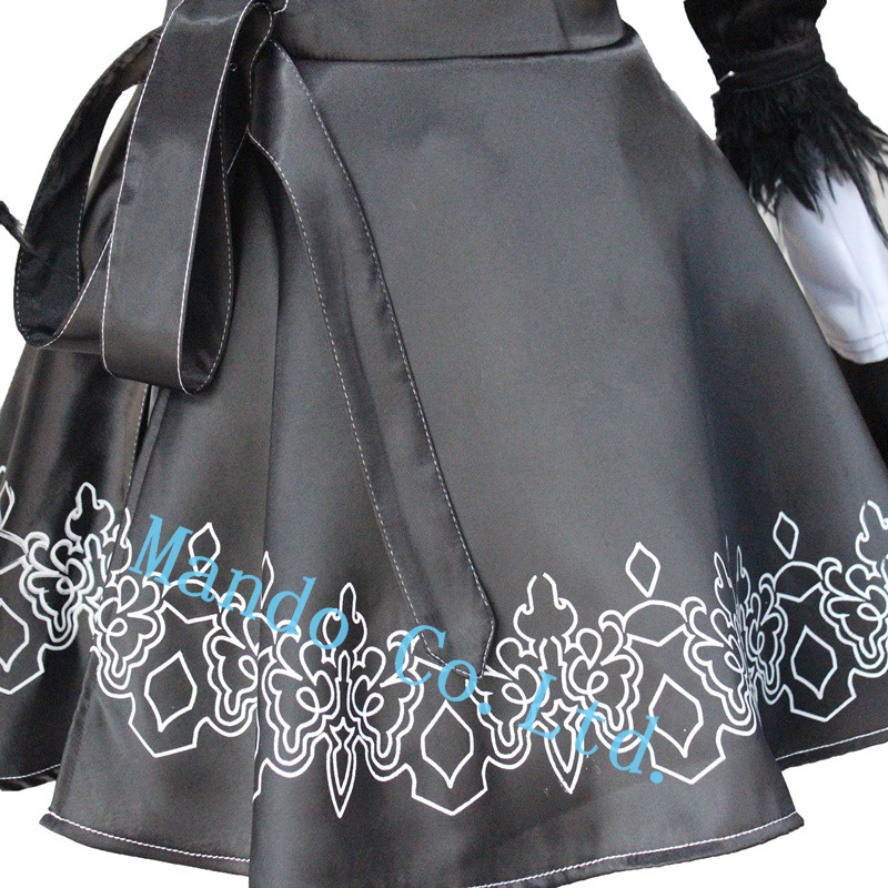 Anime NieR: Automata 2b Uniforme haljina Cosplay kostim halloween - Karnevalske kostime - Foto 5