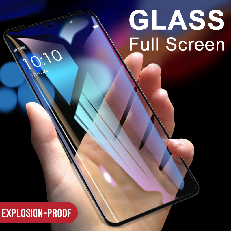 Full Cover Tempered Glass For Xiaomi Mi 9 9SE 8 8SE Screen Protector Glass For Mi Play Max3 Pro Max 3 Pro Protective Glass Film