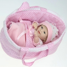 12 inches Full Body Silicone Reborn Baby Dolls For Sale Reborn Laughing Realistic Handmade Baby Girls