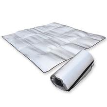3 Sizes Foldable Camping Mat Folding Sleeping Pad Mattress Outdoor Travel Waterproof Picnic Mat Aluminum Foil+EVA Pad