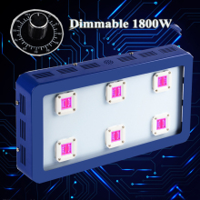 Fitolampa Aquarium Dimmable Led Grow Light Bestva X6 1800W Best VEG-BLOOM SpectrumHydroponics Greenhouse Plants Blue  Case