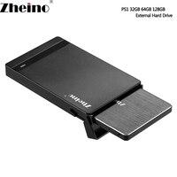 Zheino PS1 2 5 Inch SATA3 32GB 64GB 128GB MLC SSD Solid State Drive External Hard