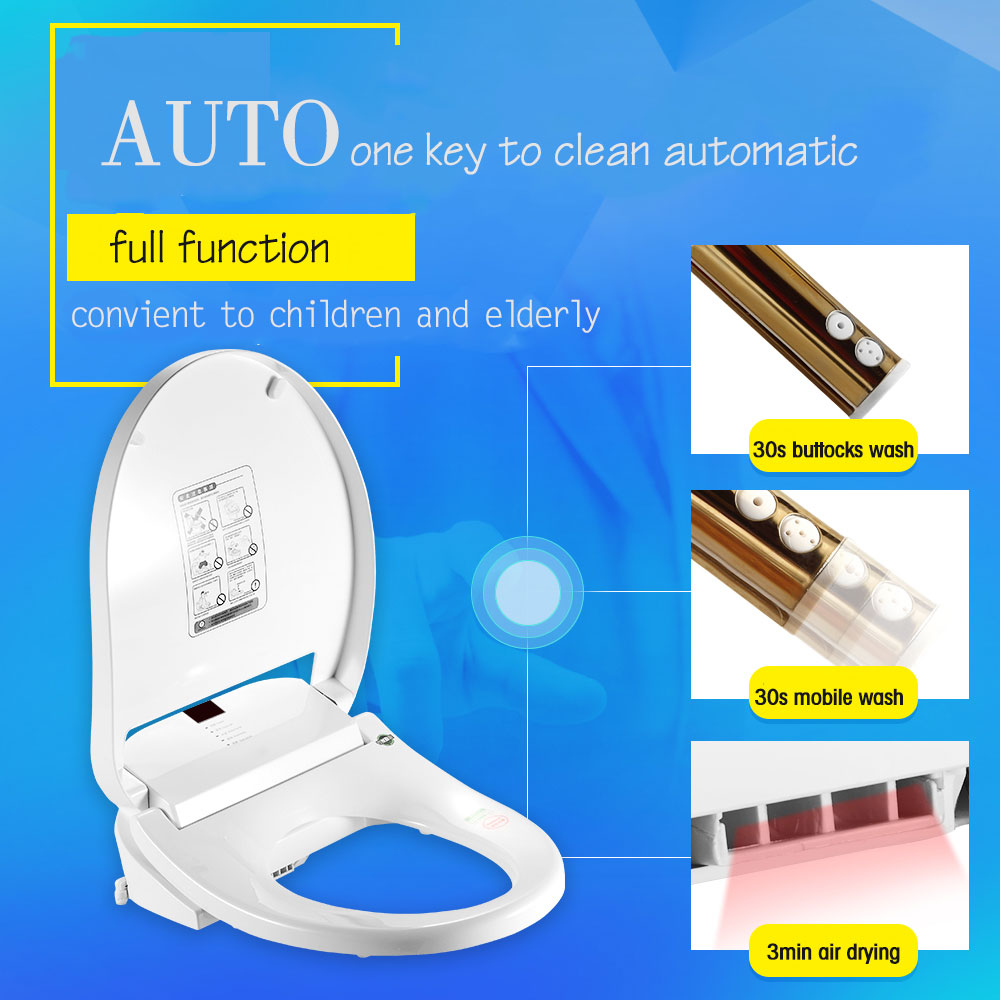 Automatic toilet seats remote control intelligent electronic bidets ...