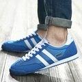 Мужчины Повседневная Обувь 2016 Новых Людей Квартиры Воздухопроницаемой Сеткой Обуви Zapatillas Deportivas Zapatos Hombre Тренеров