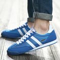 Homens Sapatos Casuais 2016 Nova Mens Flats Sapato Malha Respirável Formadores Zapatillas Deportivas Zapatos Hombre
