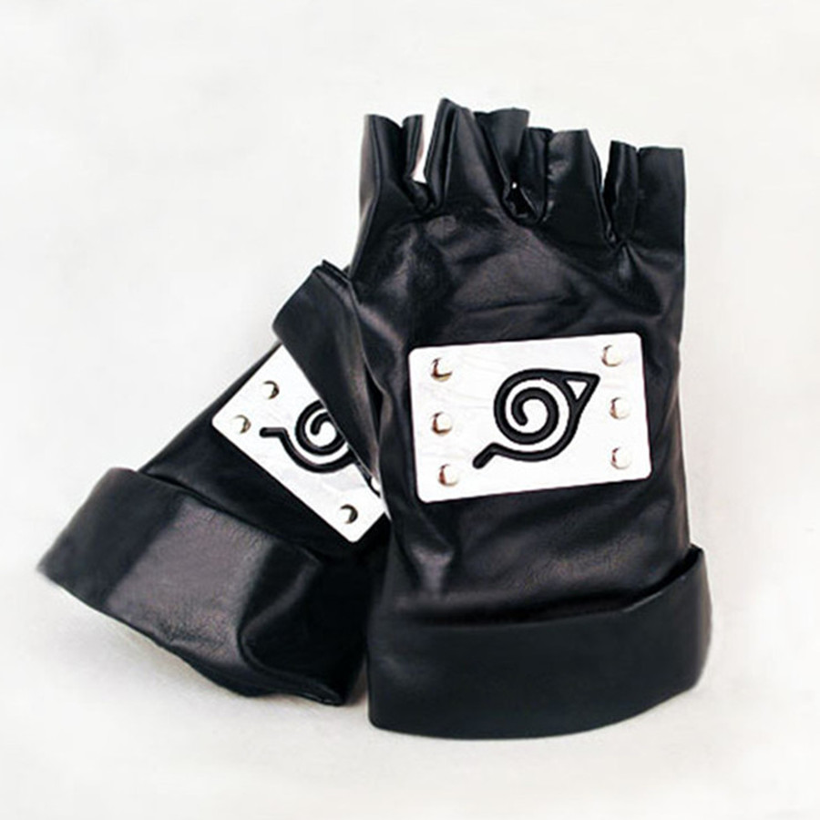 Naruto Hatake Kakashi Gloves Cosplay Costumes Accessories Kakashi Mittens Anime Dress apparel Around Props