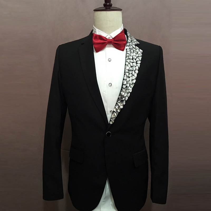 Popular Mens Rhinestone Suits Buy Cheap Mens Rhinestone