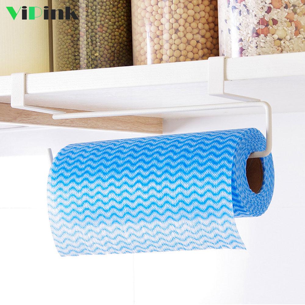 Kitchen Organizer Cabinet Hanging Type Paper Towel Holder ...