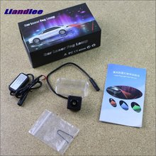 цена на Liandlee For Toyota EZ 2011 2012 Car Lamp Prevent Rear-end Collision Warning Laser Light Haze Rain Fog Snow Lights