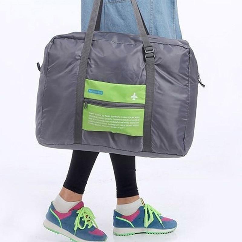Portable Large Capacity Traveling Storage Bag Nylon Zipper Weekend Travel Luggage Duffel Waterproof Bags MUG88