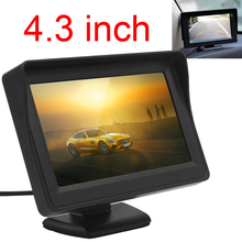 New 4.3 Inch 480 x 272 TFT LCD Digital Panel Car Rear View Monitor Support 2-Channel Video Input 1pcs new original new m190eg01 v 0 m190eg01 v 1 m190eg01 v 2 19 1280 1024 tft lcd panel