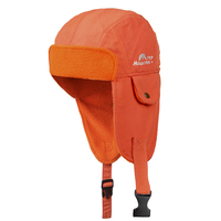 Outdoor New warm flying hat men women long ears protecktion double cloth inner fleece sport climbing camping hiking sports hat