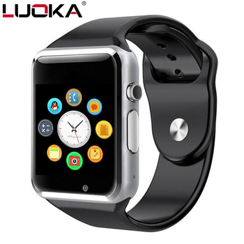 LUOKA A1 Smart Watch With Passometer Camera SIM TF Card Call Smartwatch For Xiaomi Huawei HTC Android Phone Better Than GT08 Y1