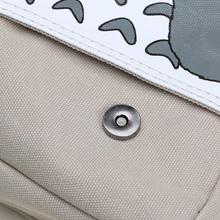 Anime Totoro Canvas Messenger Bag