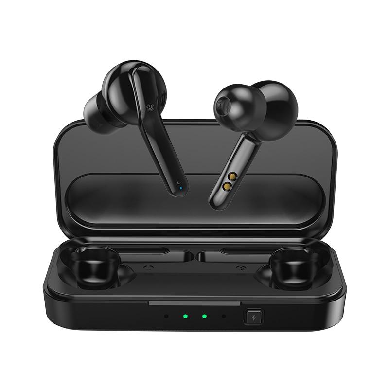 Mifa X3 TWS Verdadeiro Wireles Fones de Ouvido Sem Fio bluetooth 5.0 fone de Ouvido Estéreo com cancelamento de Ruído Fone de Ouvido com microfone handsfree chamada