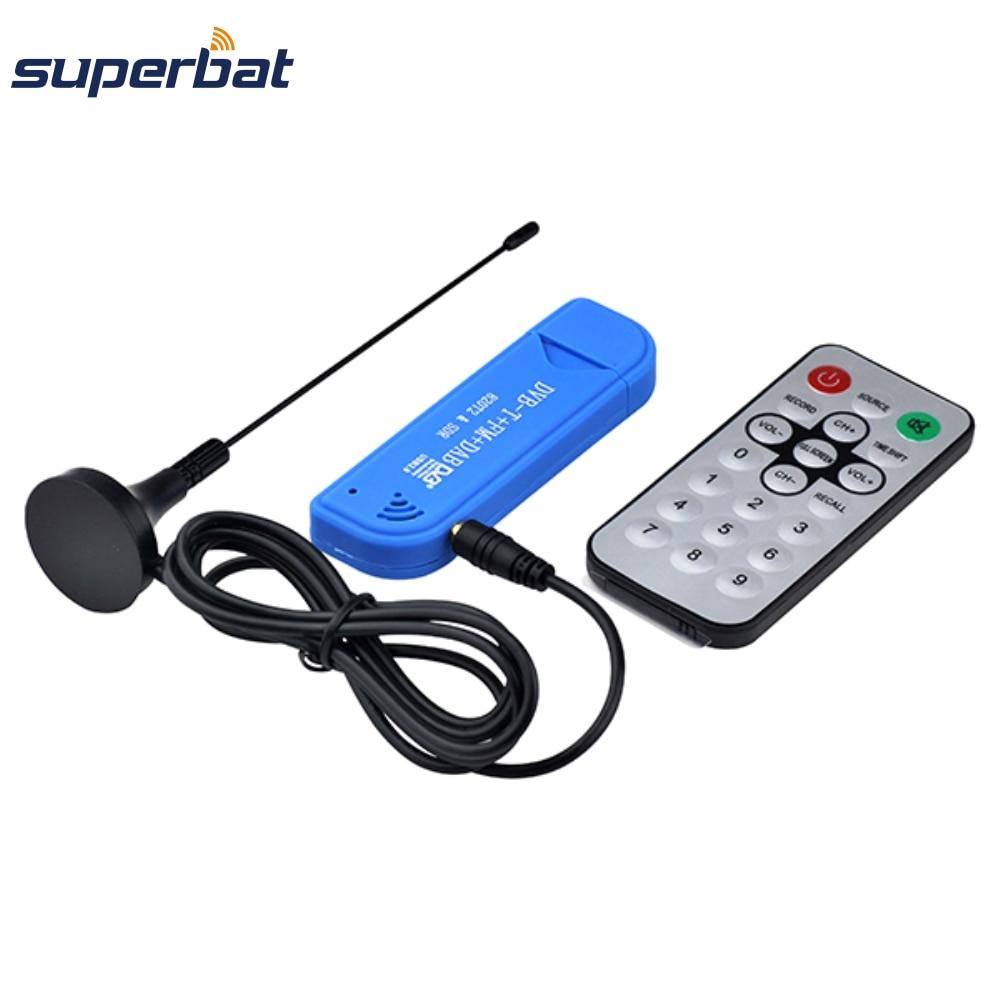Superbat Hoge kwaliteit 75 Ohm FM + DAB USB DVB-T RTL2832U + R820T2 - Communicatie apparatuur