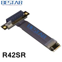 M.2 NGFF NVMe M Key2280 To PCIe 3.0 4x Riser Card Cable PCI Express x4 Extender 10cm 20cm 30cm 1ft 2ft 3ft PCI E Gen3.0 32G/bps