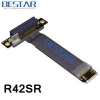 M.2 NGFF NVMe KeyM A + E 2280 Zu PCIe 4x Riser Card Kabel PCI-Express x4 Extender 10 cm 20 cm 30 cm 1ft 2ft 3ft PCI-E Gen3.0 32G/bps