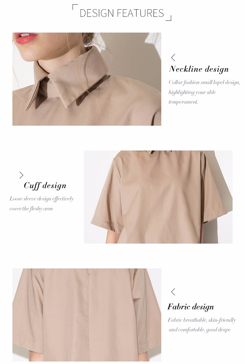 HTB1mMlILpXXXXaSXVXXq6xXFXXXZ - Style shirt fashion turn down collar blouse slim women shirt