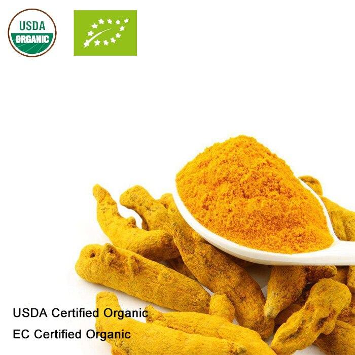 USDA And EC Certified  Organic Turmeric Powder