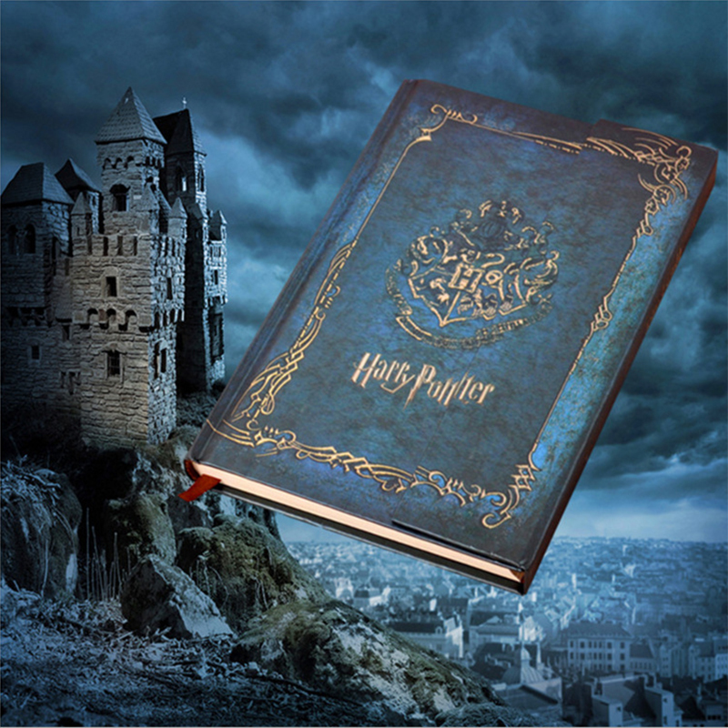 Harry Potter Vintage Notebook Diary with 2017-2019 Calendar Retro Hard Cover Agenda Schedule Planner Book Gift diary book new arrival 2017 retro hardcover harry potter magic book schedule harry potter harry potter magic wand diary sketch book 2017