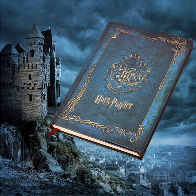 harry potter vintage notebook diary with 2017 2019