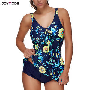 837e5fe40eecb JOYMODE Push Up Padded Bath Suit Beach Wear Bankini Maillot Plus Swim suit