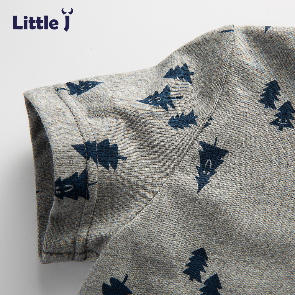 Little-J-Boys-Gray-Tree-Cotton-T-Shirt-Kids-Brand-Design-Cartoon-T-shirts-Brother-Baby-Boy-Short-Sleeve-O-neck-Top-Clothing-3