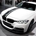 Etiqueta engomada del vinilo de las rayas del capó trasero del coche del rendimiento M para BMW F30 F10 F20 F87 F22 F34 F32 g30 E60 E90 E46 G20 G05