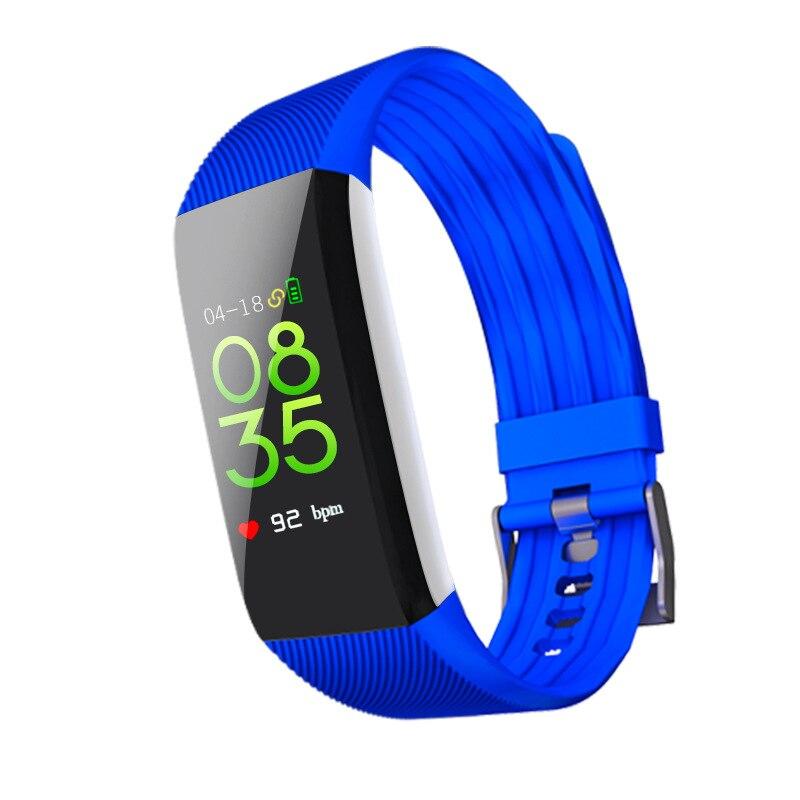 2018 nouvelles montres intelligentes Bluetooth hommes montres électroniques femmes montre de sport Top marque Couple de luxe horloge intelligente Table étanche