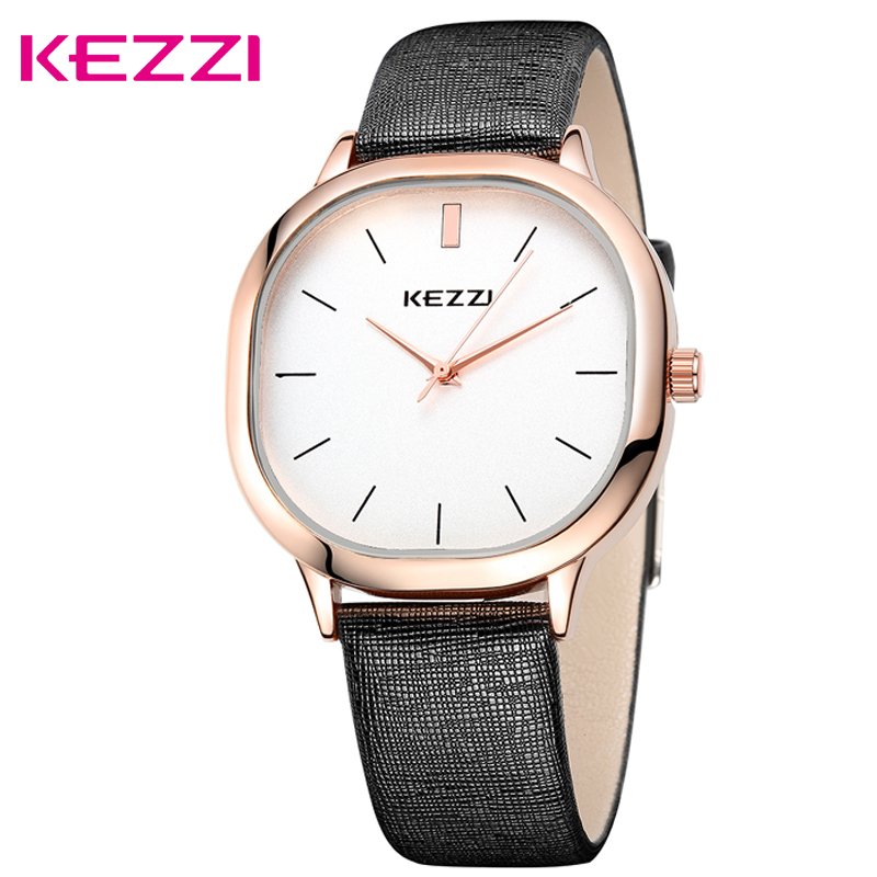 Kezzi New Top Brand Luxury Business Watch Women Fashion Sport Quartz Clock Leather Strap Wristwatches Relogio Masculino k-1155 кромкорез со штоком stihl fcb km