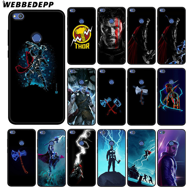 WEBBEDEPP Thor Marvel Avengers Soft Silicone Case for Huawei Honor Mate 20 10 8X 8C 8 6A 7A 7X 7C Lite Pro TPU