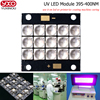 1pcs 60W 120W 160W 500W UV 395nm 400nm High Power Purple LED Copper PCB For For