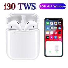 2019 i30 TWS PK W1 чип LK-TE9 i20 i10 i12 Tws Беспроводные наушники с супер басами Bluetooth наушники 3D Touch control наушники i 30