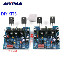 Aiyima 2 PCS MX50 SE 100WX2 Double Canaux Audio amplificateurs de Puissance Conseil Diy Kit Nouvelle Version