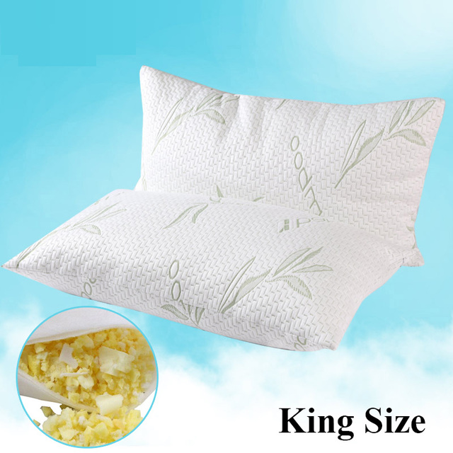 DFH King Size Shredded Hypoallergenic Memory Foam Sleeping Pillow Fascinating Memory Foam Decorative Pillow