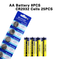 8Pcs YCDC Battery AA Pre Charged NIMH 1 2V 2000mAh Ni MH 2A Rechargeable Batteries Up
