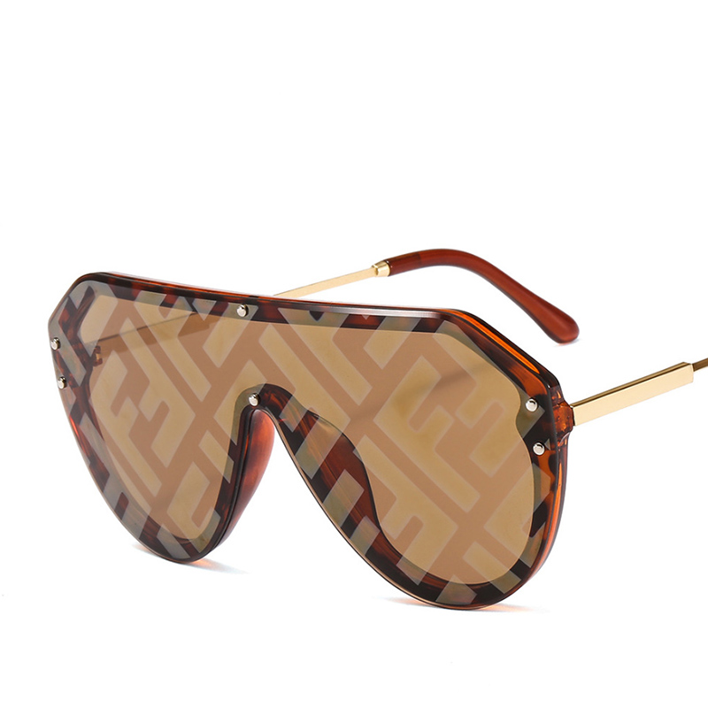 2019 New F Watermark One-piece Sunglasses PC Copy Film Men Women Sunglasses Girls Personality Colorful Fashion Wild Sun Glasse (25)