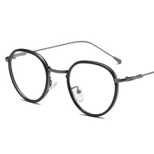 Retro Eyeglasses Frame Vintage Round Prescription Glasses Frame Clear Lenses Myopia Optical Glasses Eyewear Frames For Women Men