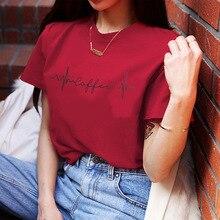 2019 New Women T-shirts Casual Harajuku Love Printed Tops Tee Summer Female T Shirt Short Sleeve T Shirt for Women Clothing цена