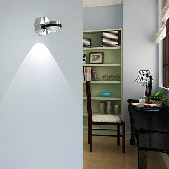 YooE Wall Lamp 2W LED Mirror Light AC110V/220V Modern Wall Sconce Indoor  Lighting Living