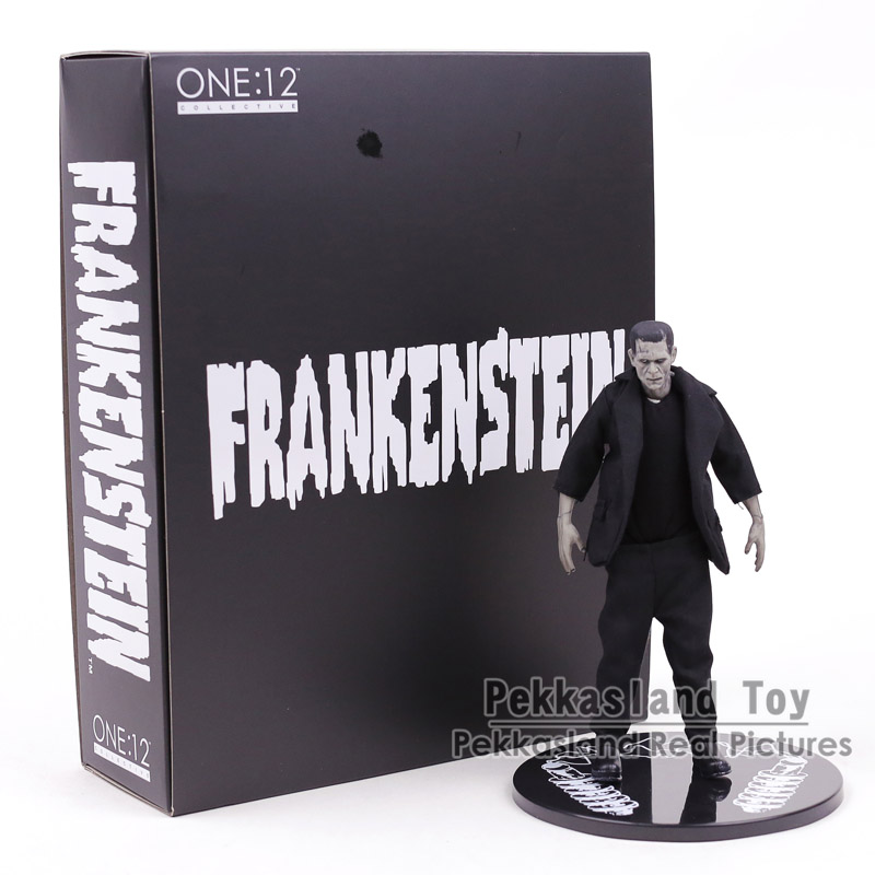Mezco Toys Frankenstein Real Clothes Ver. 1:12 Scale PVC Action Figure Collectible Model Toy 18CM
