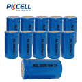 10Pcs in Bulk* 900mAh Li-ion ICR 18350 3.7V Rechargeable Battery in flat top
