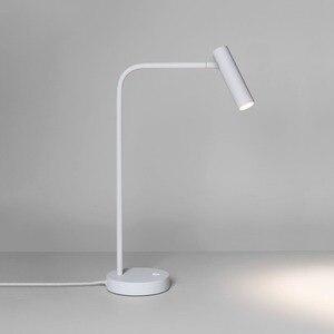 Image 2 - Zerouno משרד שולחן אור ספר קריאת מנורת led שולחן שינה מחקר 2700K stand מנורת שולחן חדר המיטה