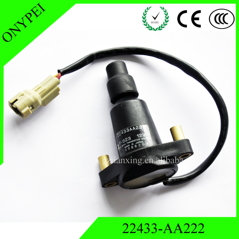 22433-AA222 Ignition Coil For SUBARU EJ20T EJ20 2.0 TURBO V1 V2 V3 2 BOLT 22433AA222 22433-AA280 22433-AA22122433-AA222 Ignition Coil For SUBARU EJ20T EJ20 2.0 TURBO V1 V2 V3 2 BOLT 22433AA222 22433-AA280 22433-AA221